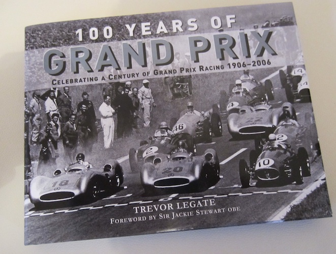 100 Years of Grand Prix Book Cover