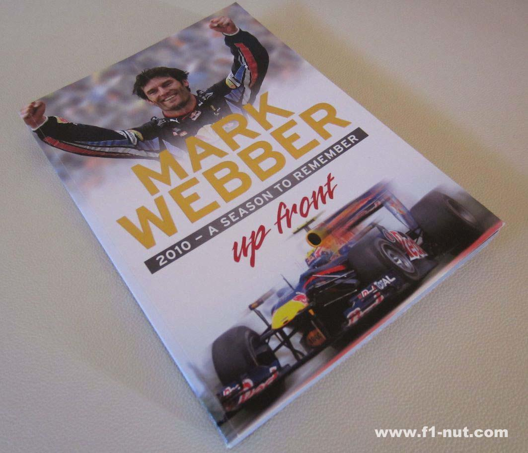 Mark Webber Up Front Book Cover