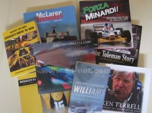 Best F1 team books