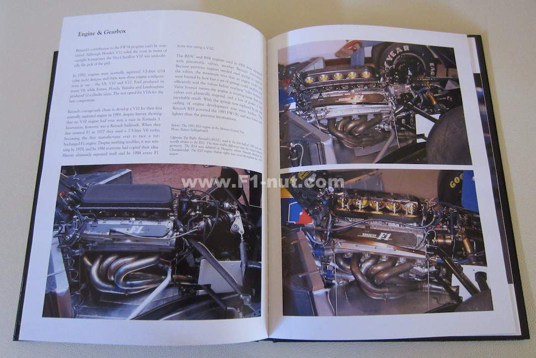 rare book review williams fw14b the evolution development of the williams grand prix car 1991. Black Bedroom Furniture Sets. Home Design Ideas