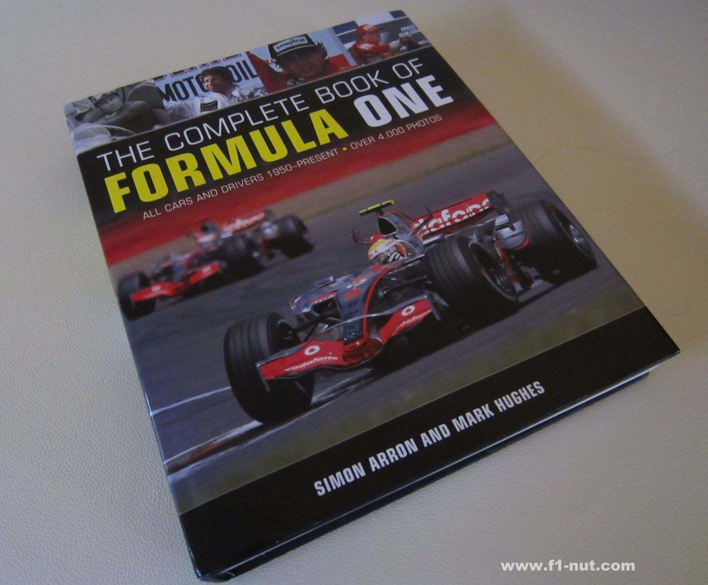 complete book of formula one book cover