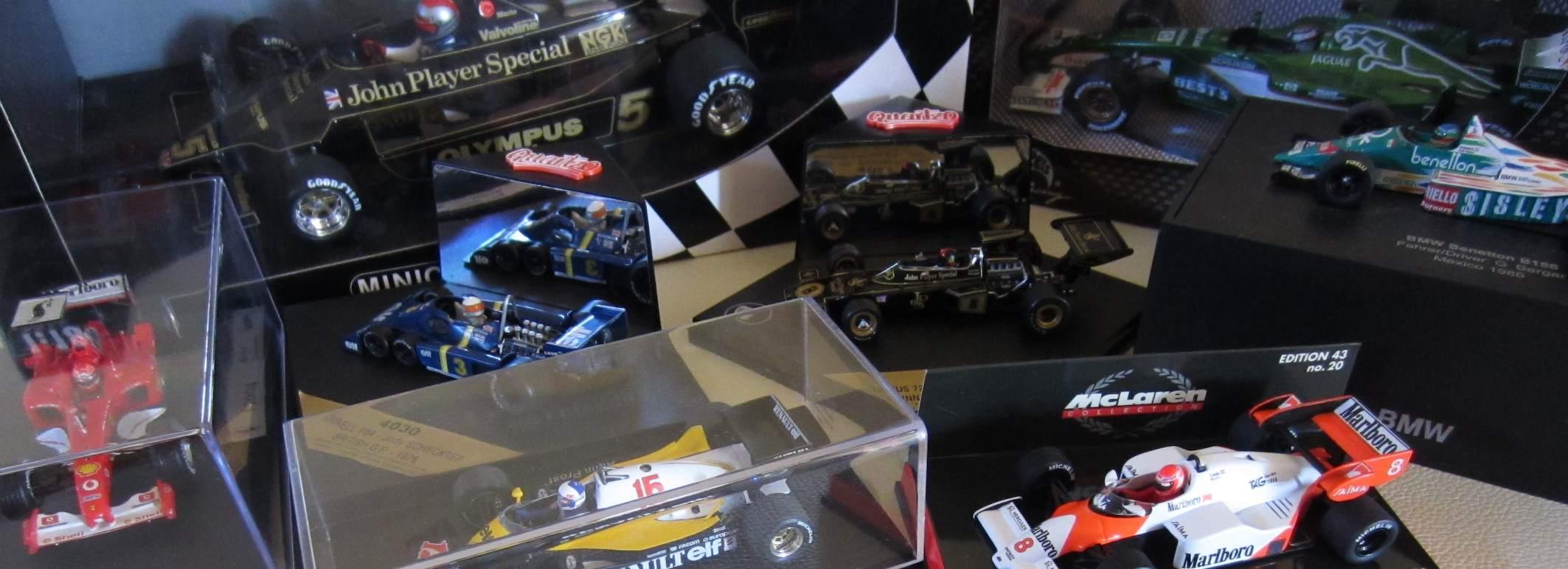 Guide to F1 model cars | F1-nut com