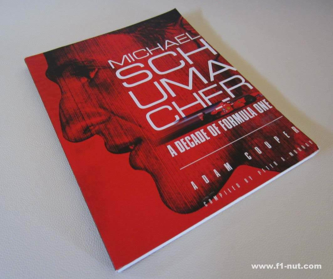 Michael Schumacher Decade Formula One book cover