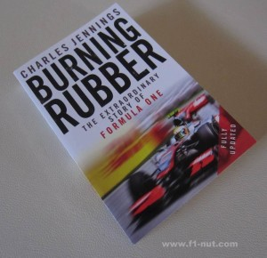 burning rubber book cover