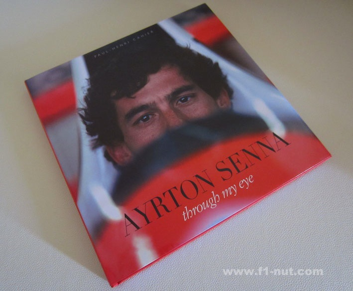 ayrton senna through my eye book cover