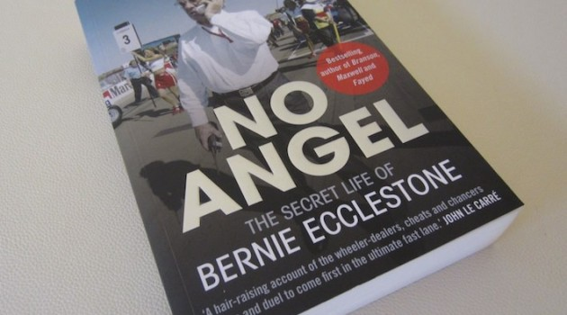 Bernie Ecclestone No Angel Book Cover