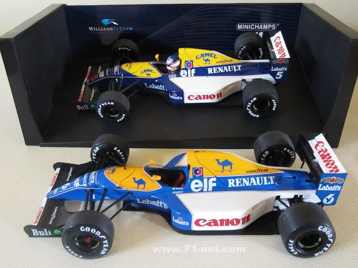 F1 diecast 1:18 review: Minichamps vs Exoto | F1-nut com