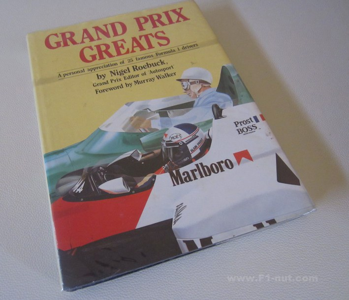 Grand Prix Greats Reobuck book cover