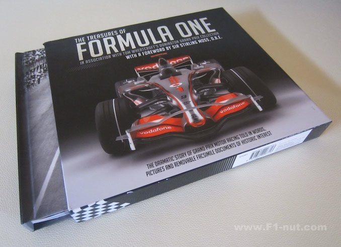 Treasures of Formula One book cover
