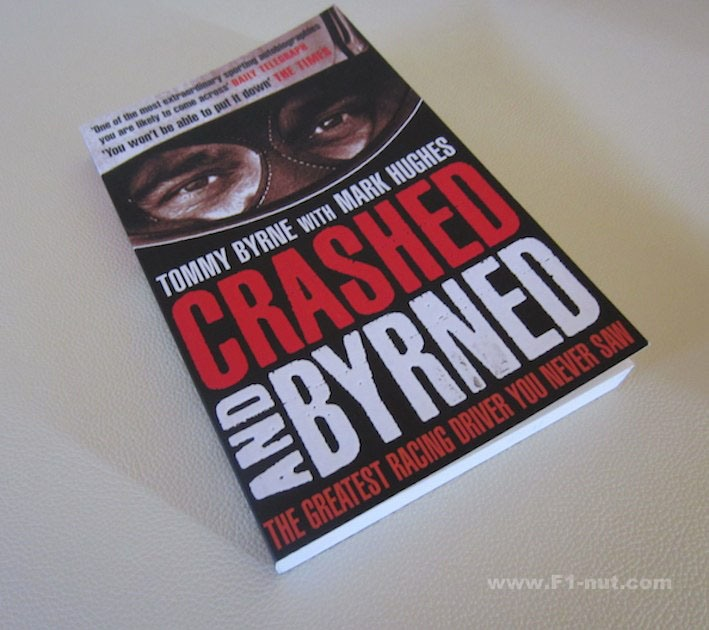 Crashed&Byrned book cover