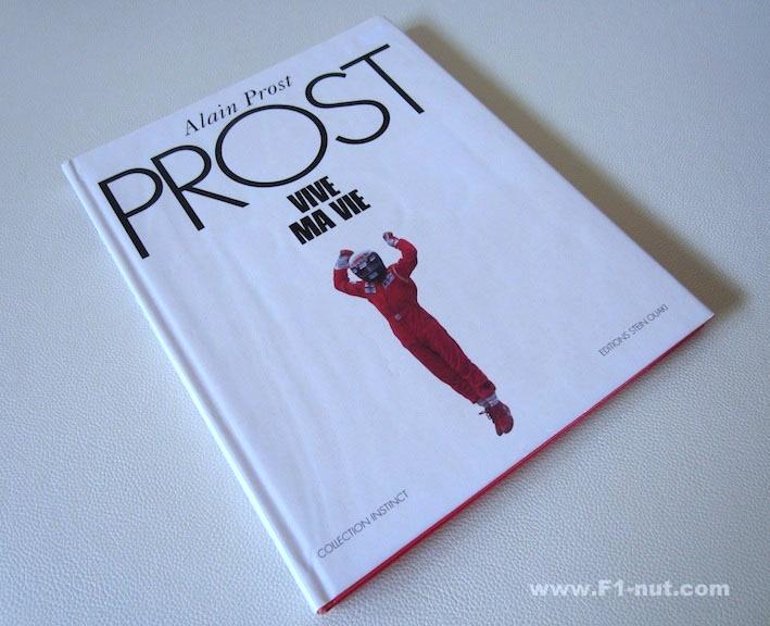 Alain Prost Vive Ma Vie Book cover