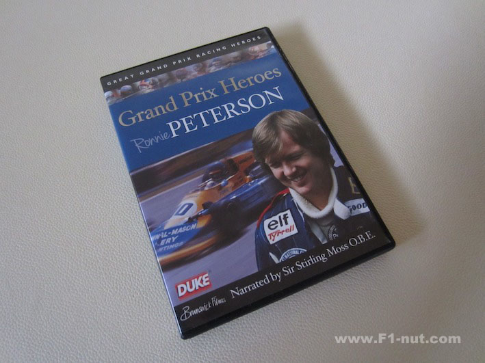 Great Grand Prix Heroes Ronnie Peterson DVDw