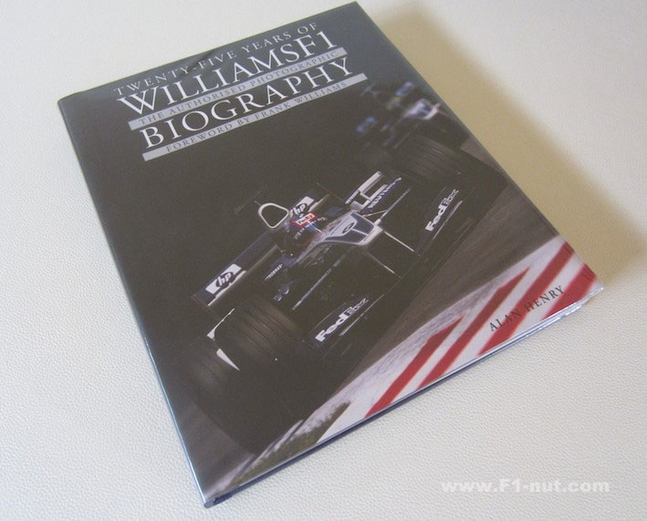 WilliamsF1 Photo biography book cover