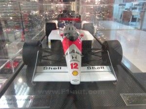 Amalgam Senna McLaren MP4/4 Front profile