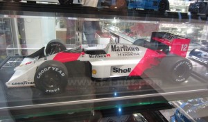 Amalgam MP4/4 Senna McLaren side profile