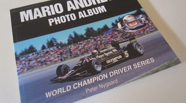 Mario Andretti Photo Album book cover