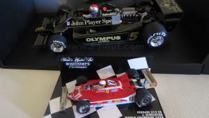 Rare Minichamps F1 diecast models