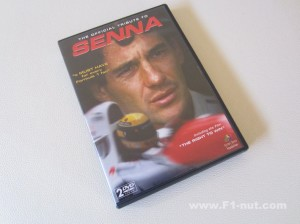 Senna Official Tribute DVD cover