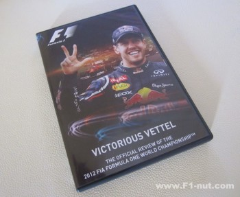 2012 FIA Official Season Review DvD cover