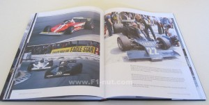 F1 in Camera 70s book pages