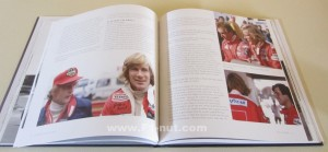 Memories of James Hunt book pages