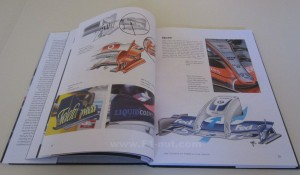 Science of Formula 1 Design book pages