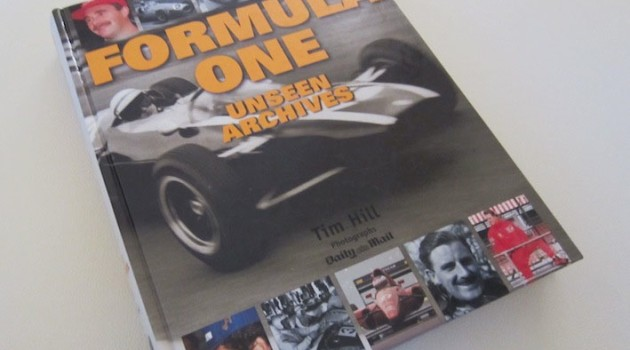 F1 Unseen Archives book cover