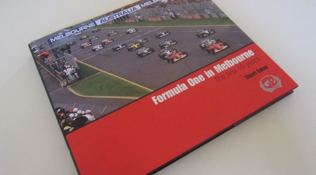 F1 in Melbourne book cover