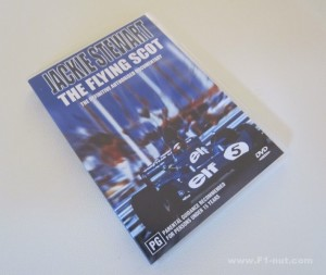 Jackie Stewart The Flying Scot DVD