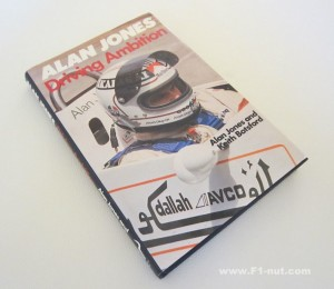 Alan Jones Driving Ambition book cover