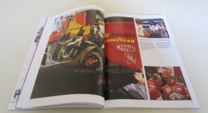 Michael Schumacher Ferrari 1998 book pages