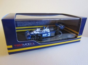 TrueScale Models 1:43 Peterson P34 box