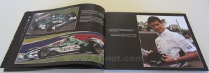 Mark Webber Two Steps Forward book pages