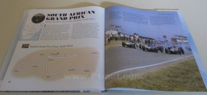 Formula One Race Circuits Book pages