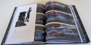 Jacques Villenueve Champion in Pictures book pages