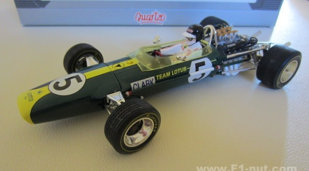 Quartzo Jim Clark Lotus 49 1:18