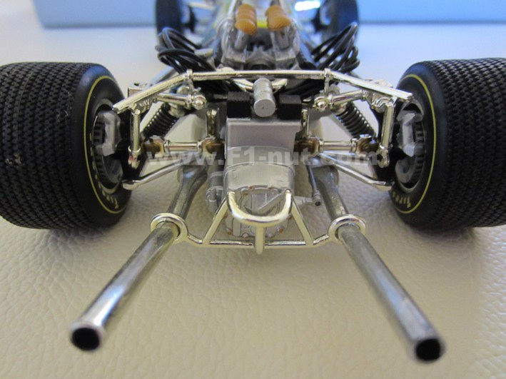 F1 Diecast Review Quartzo 1 18 Scale Jim Clark Lotus 49