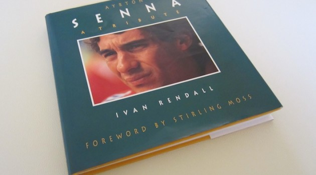 Ayrton Senna A Tribute book cover