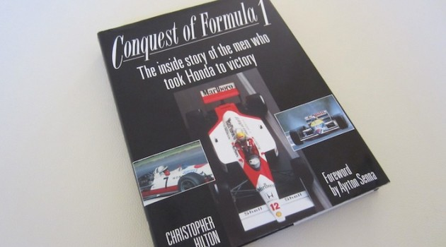 Conquest of Formula 1 book cover