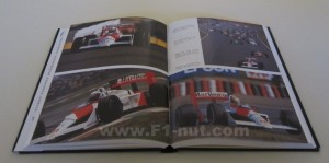 Conquest of Formula 1 book pages