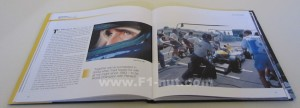 Renault F1 Beyond the Yellow Teapot book pages