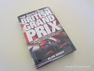 Battle for the British Grand Prix book cover
