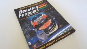 Behind the Scenes with Benetton F1 book cover
