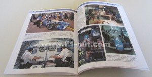 Behind the Scenes with Benetton F1 book pages