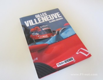 Gilles Villeneuve Autocourse book cover