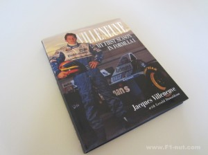 Villeneuve My First Season book cover