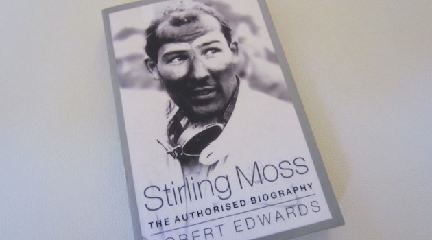 Stirling Moss Biography book cover