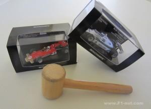 Minichamps diecasts 1:43 auction
