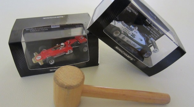 Minichamps diecasts 1:43 auction