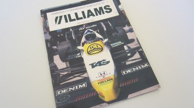 Kimberley's Guide WilliamsF1 book cover